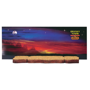 Lemax 34984 Spooky Town Display Platform, set of 3, Landscape- Gift Spice