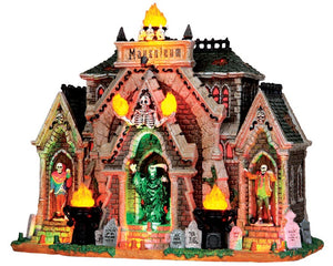 Lemax 35491 All Hallows Mausoleum, Sights and Sound piece- Gift Spice