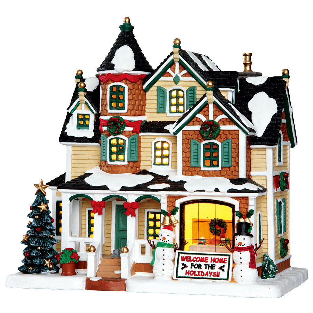 Lemax 35522 Holidays Homecoming, Standard Lighted Building- Gift Spice