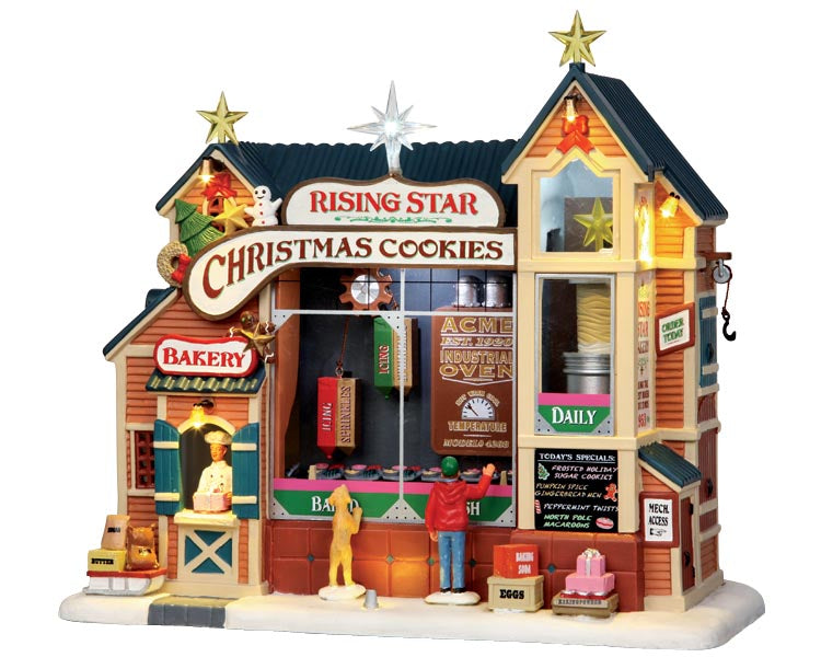 Lemax 35557 Rising Star Bakery, Sights and Sound piece- Gift Spice