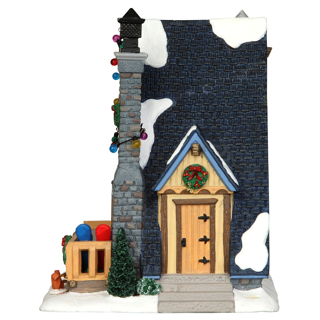 Lemax 35573 Edelweiss Cabin, Standard Lighted Building- Gift Spice