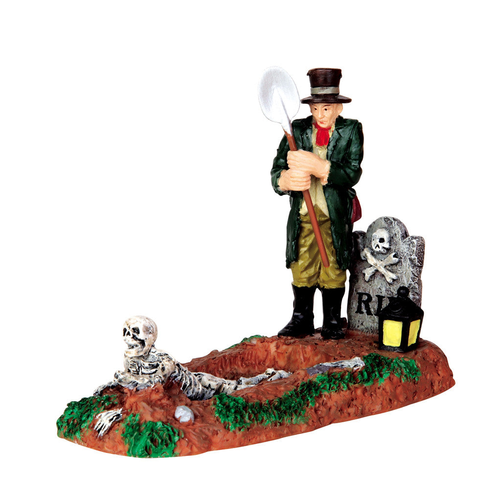 Lemax Spooky Town 42202 Grave Digger, Figurine- Gift Spice