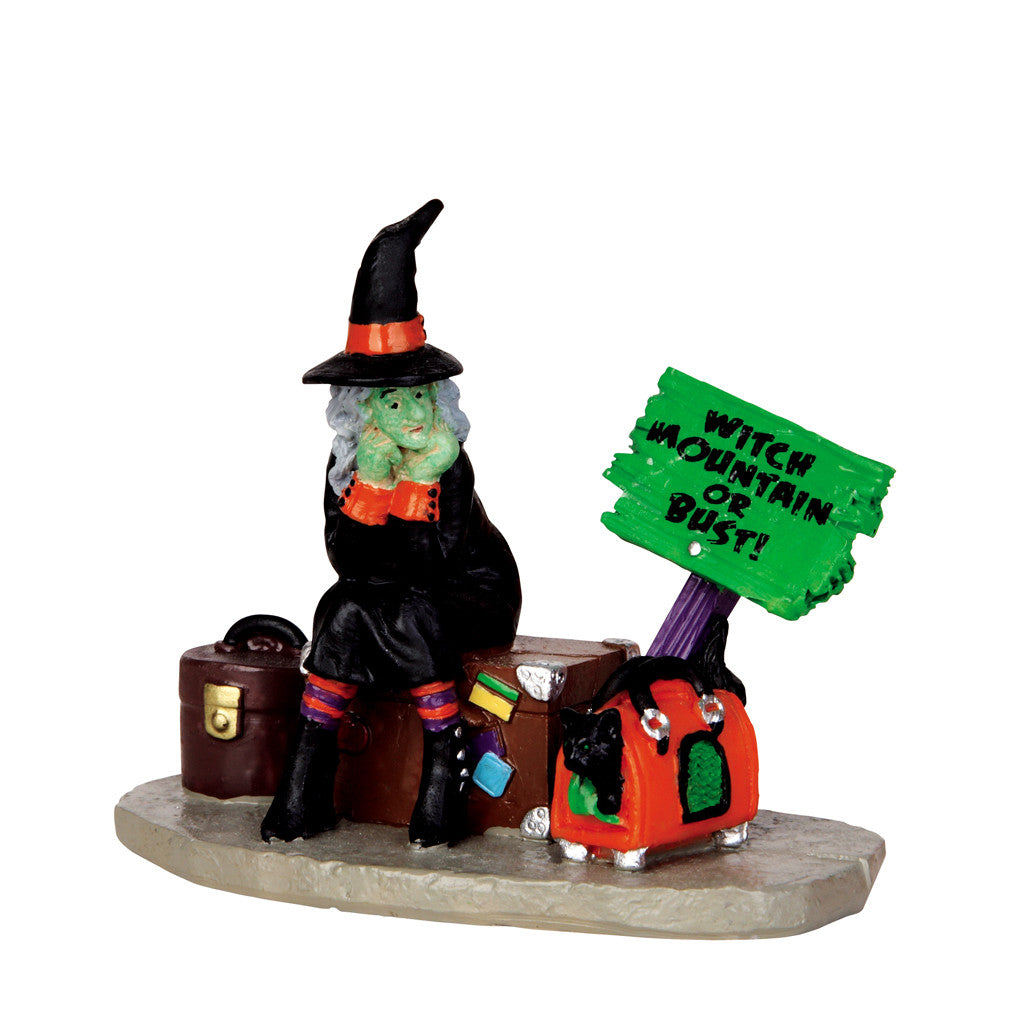 42204 Stranded Witch, Lemax Spookytown- Gift Spice