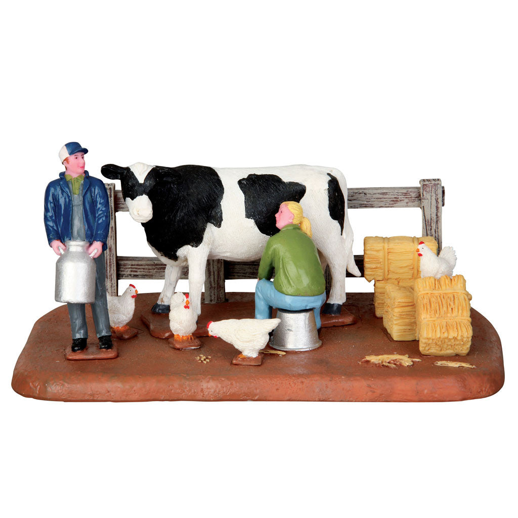 43080 Morning Milk, Lemax Collectibles- Gift Spice