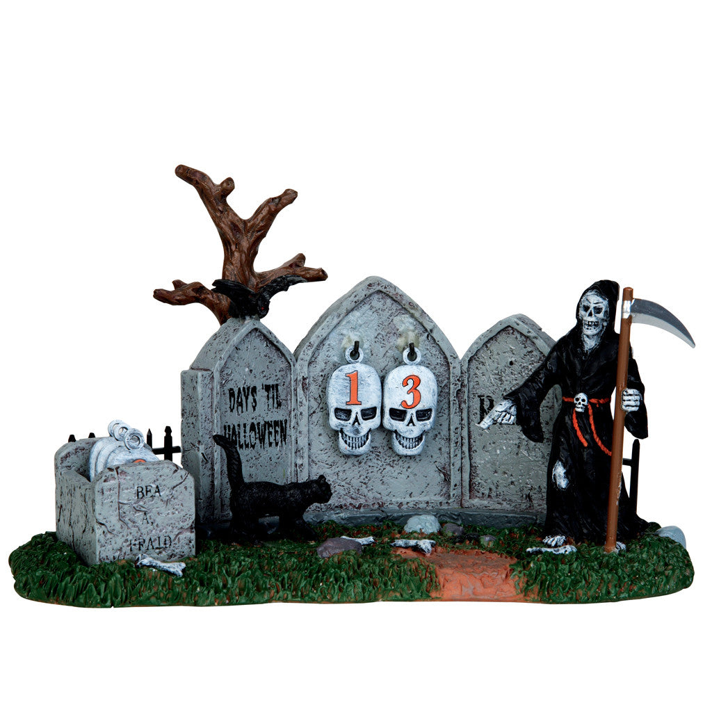 Lemax 43102 Grim Reaper Countdown, Table Piece- Gift Spice