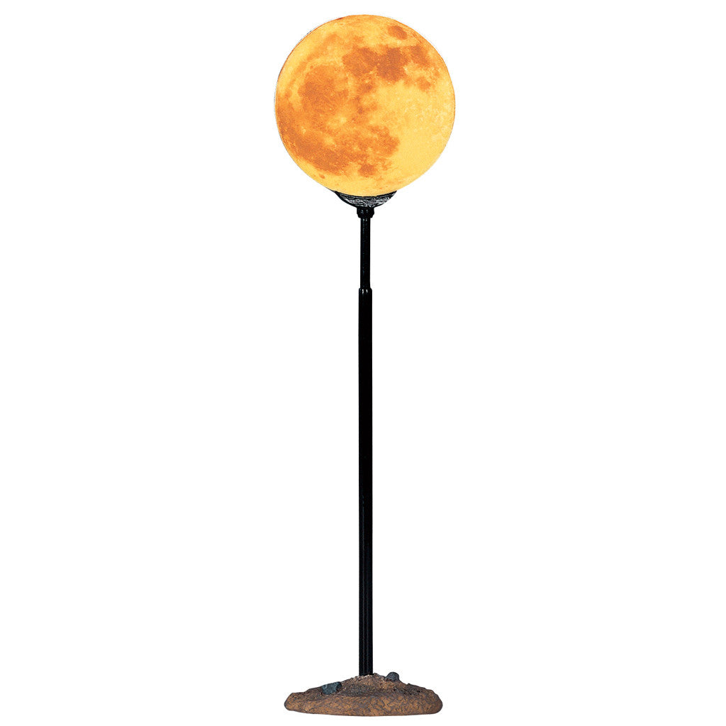 Lemax 44136 Lighted Moon, Accessory- Gift Spice