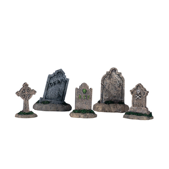 44145 Tombstones, set of 5, Lemax Spookytown- Gift Spice