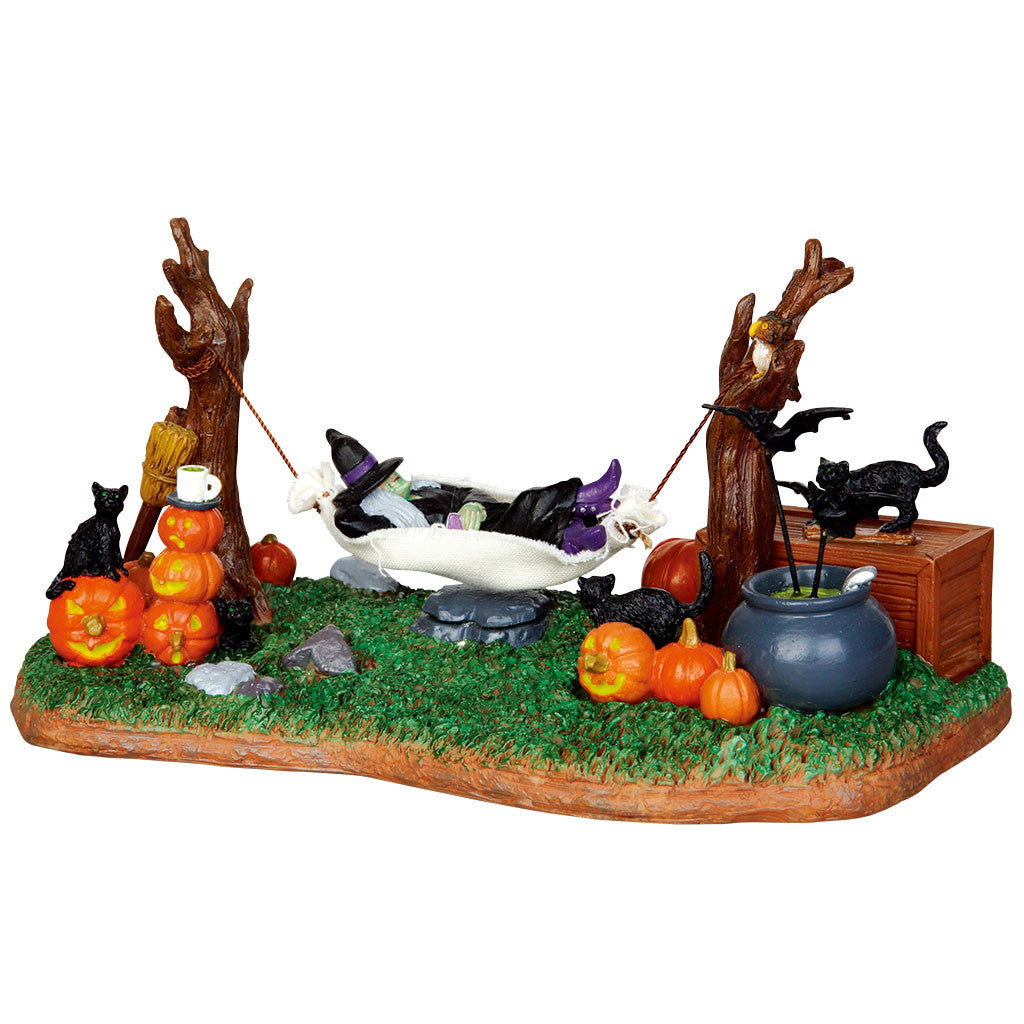 Lemax 44731 Witches' R&R, Animated Table Piece- Gift Spice