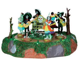 Lemax 44732 Day of the Dead Parade, Animated Table Piece- Gift Spice