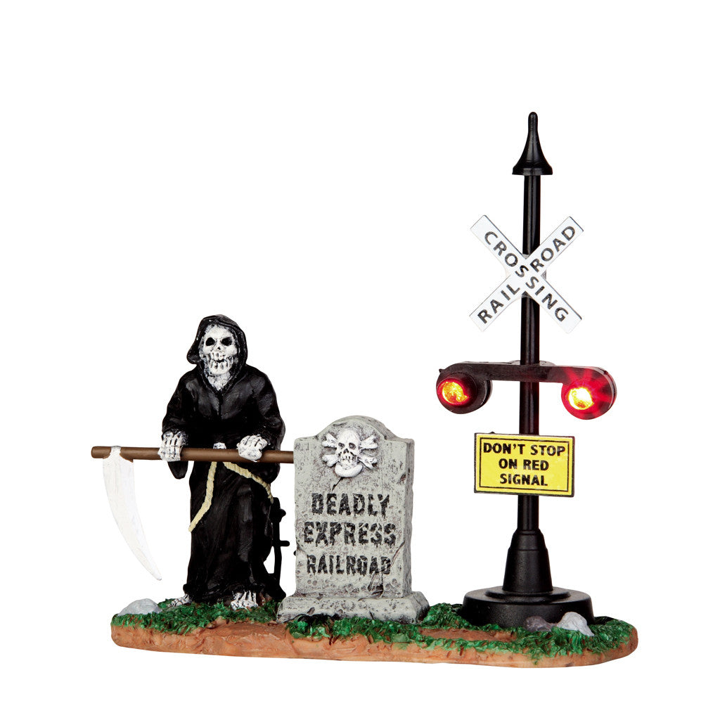 44746 Grim Railway Switchman, Lemax Spookytown- Gift Spice