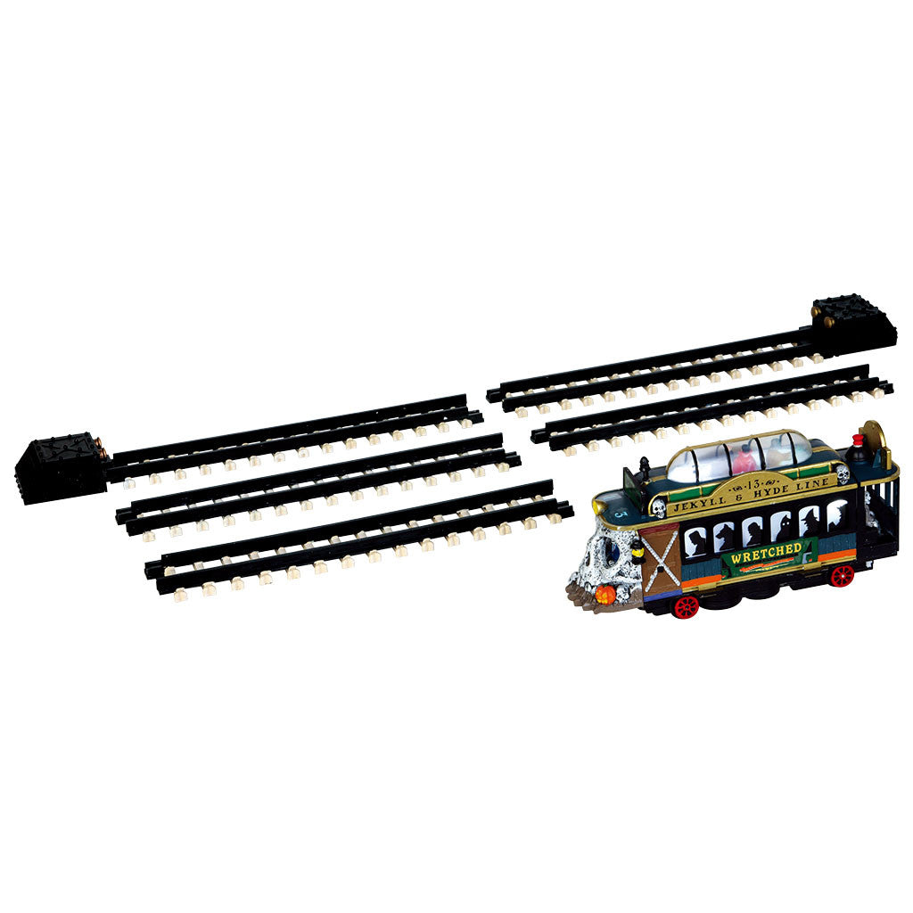 Lemax 44749 Spookytown Trolley, Sights and Sound piece- Gift Spice