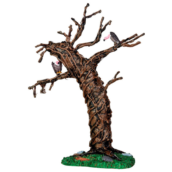 44758 Twisted Vulture Tree, Lemax Spookytown- Gift Spice