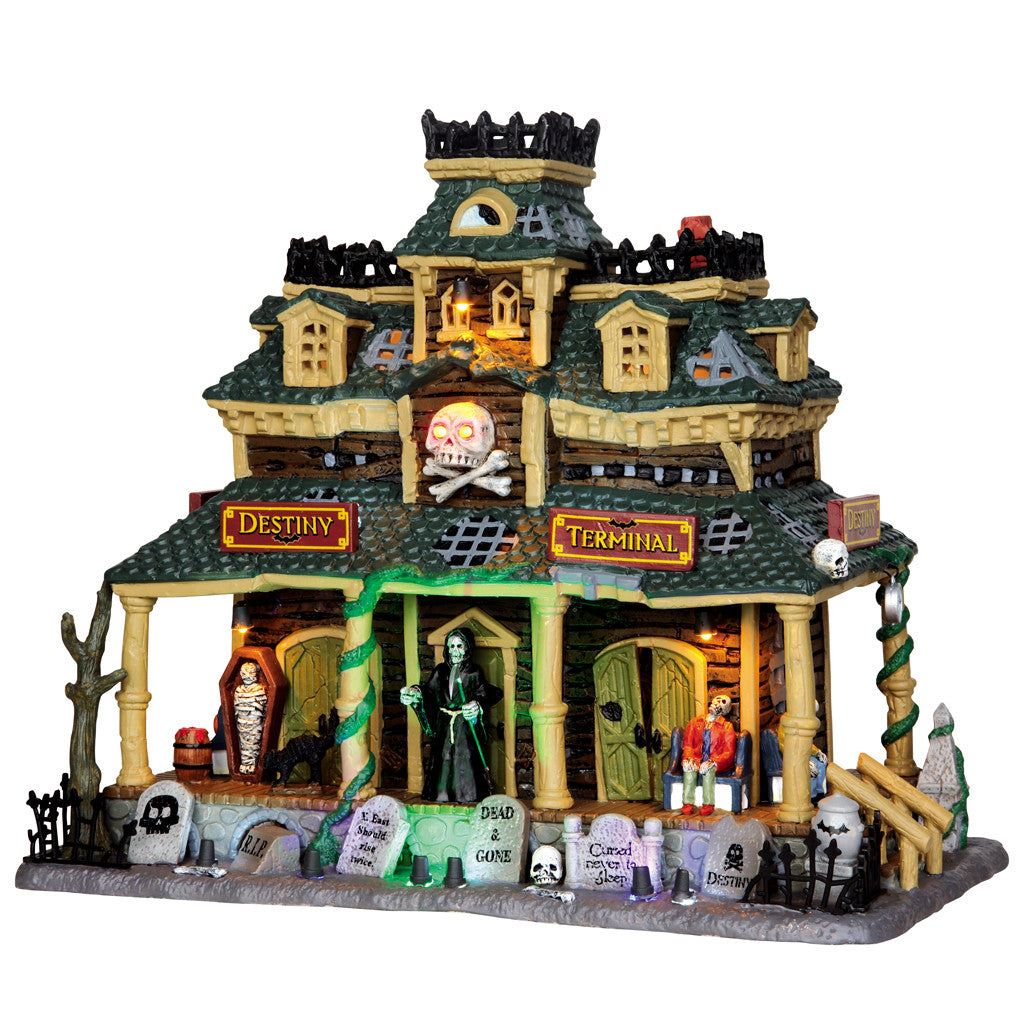 45665 Destiny Terminal, Lemax Spookytown- Gift Spice