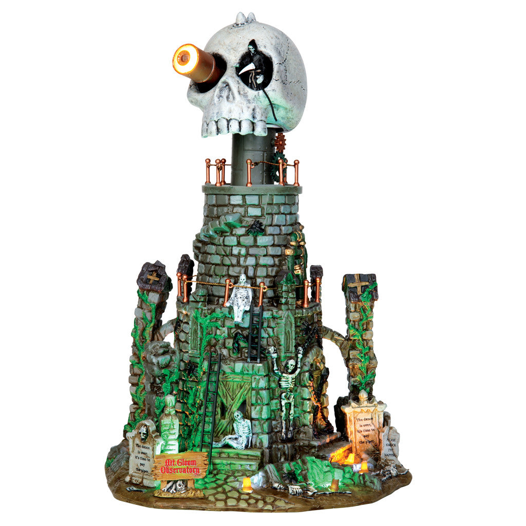 Lemax 45672 Mt. Gloom Observatory, Sights and Sound piece- Gift Spice