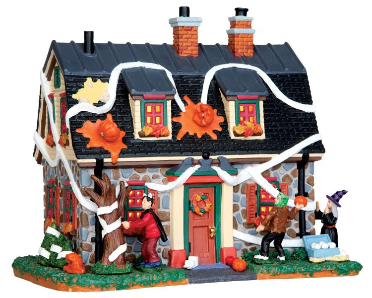 Lemax 45674 Tricked-Out House, Standard Lighted Building- Gift Spice