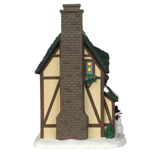 Lemax 45697 Winter Chalet, Standard Lighted Building- Gift Spice