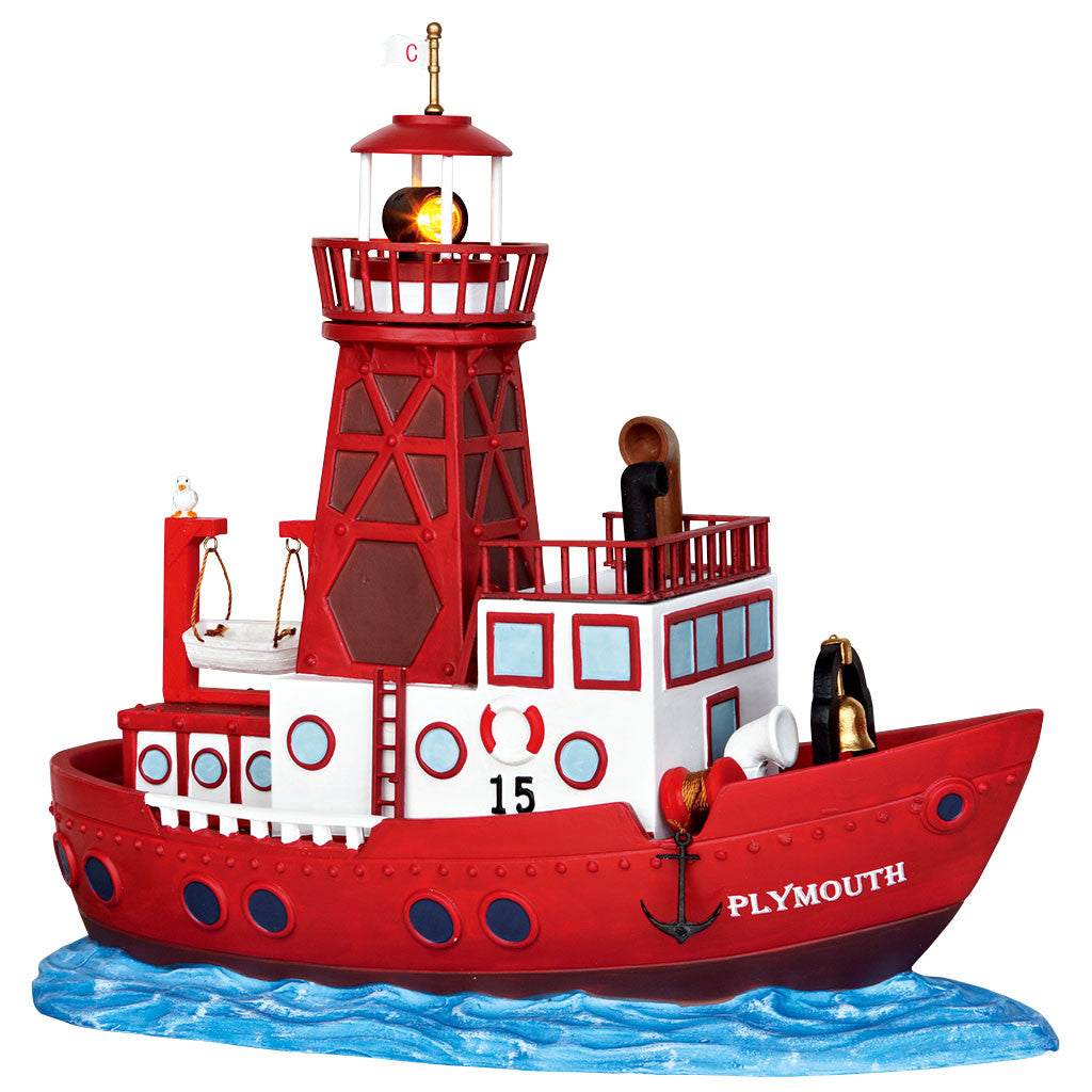 Lemax 45730 Lightship, Standard Lighted Building- Gift Spice