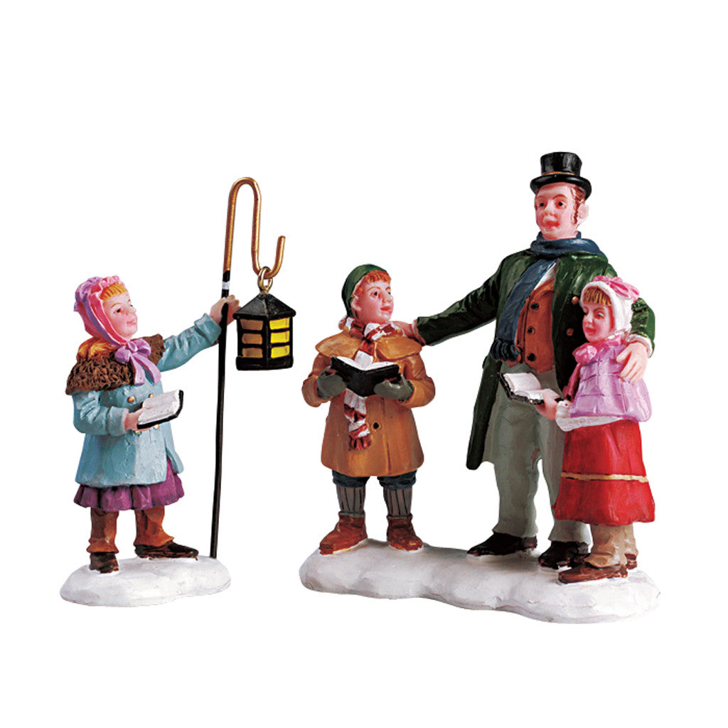 Victorian Christmas Carolers Figurines: A Victorian Christmas By Lemax