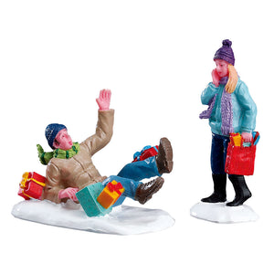 Lemax 52360 Shopping Date Set Of 2, Figurine- Gift Spice