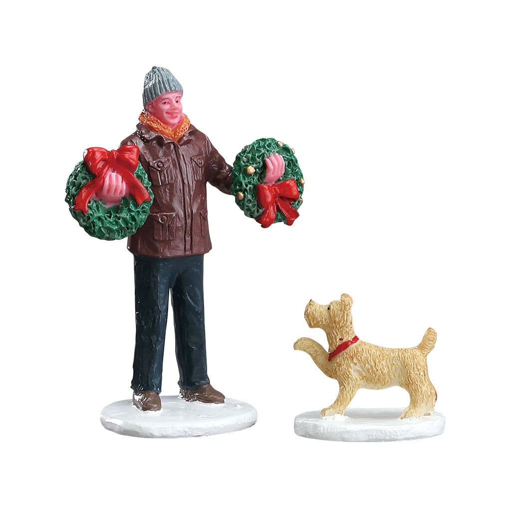 Lemax 52383 Tree Lot Figure, Figurine- Gift Spice
