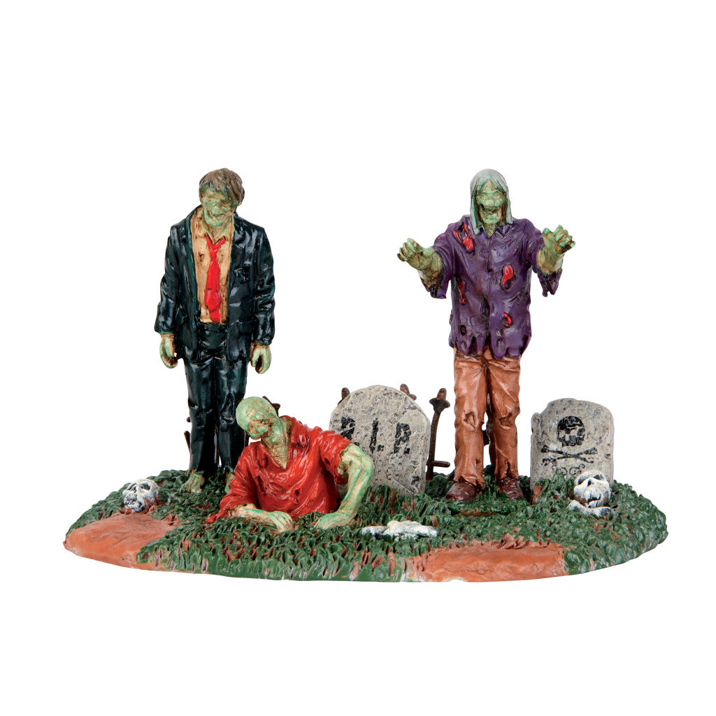 53238 The Dead Return, Lemax Spookytown- Gift Spice