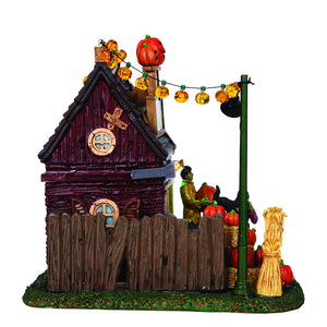 Lemax 54902 Spooky Hollow's Pumpkin Patch, Table Piece- Gift Spice