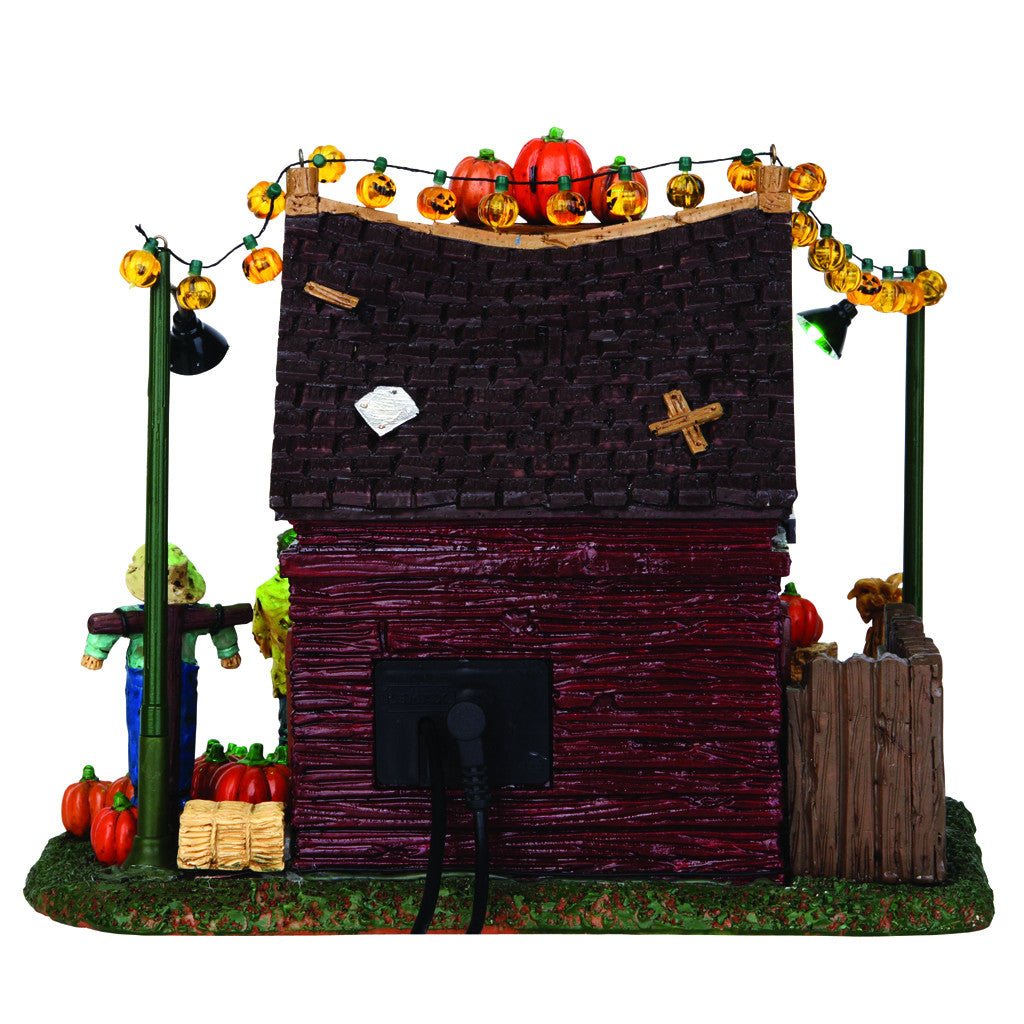 54902 Spooky Hollow's Pumpkin Patch, Lemax Spookytown- Gift Spice