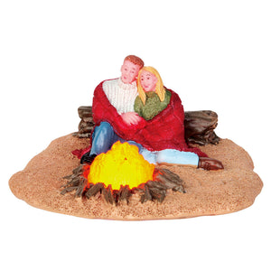 Lemax 54929 Romantic Campfire, Table Piece- Gift Spice