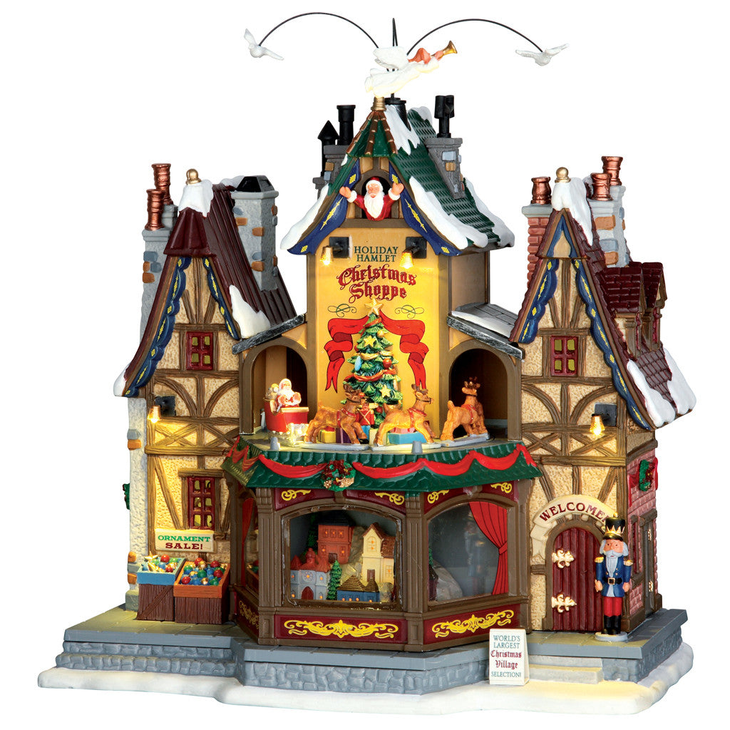 Lemax 55026 Holiday Hamlet Christmas Shoppe, Sights and Sound piece- Gift Spice