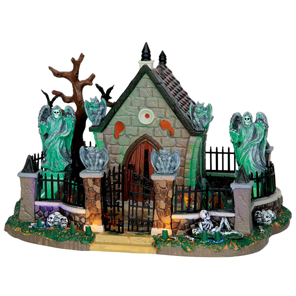 Lemax 55907 Graveyard Scene, Table Piece- Gift Spice
