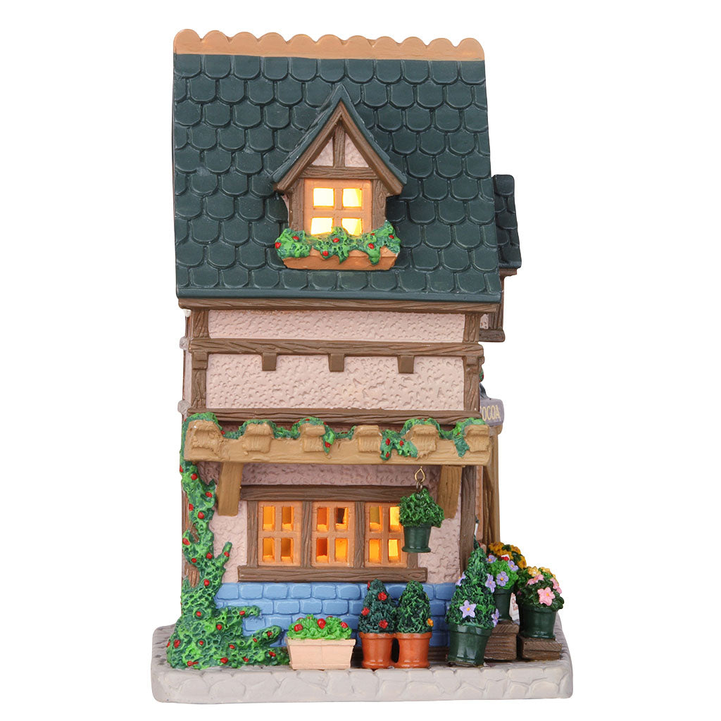 Lemax 55972 McMann's Florist, Standard Lighted Building- Gift Spice