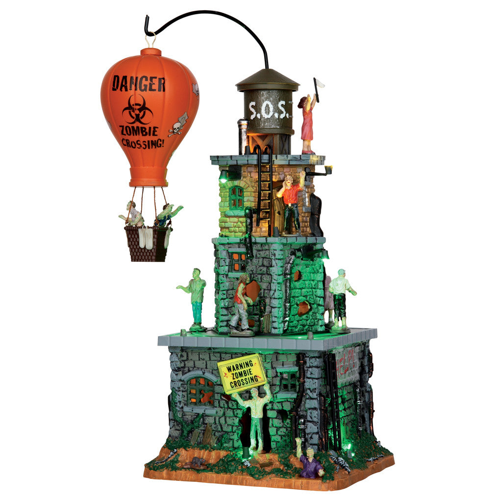 55998 Zombie Fortress, Lemax Spookytown- Gift Spice