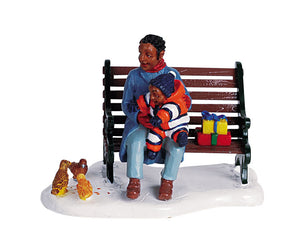 Lemax 62324 At The Park, Figurine- Gift Spice
