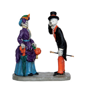 Lemax Spooky Town 62427 Evening Promenade, Figurine- Gift Spice