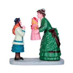 Lemax 62431 New Doll for Christmas, Figurine- Gift Spice