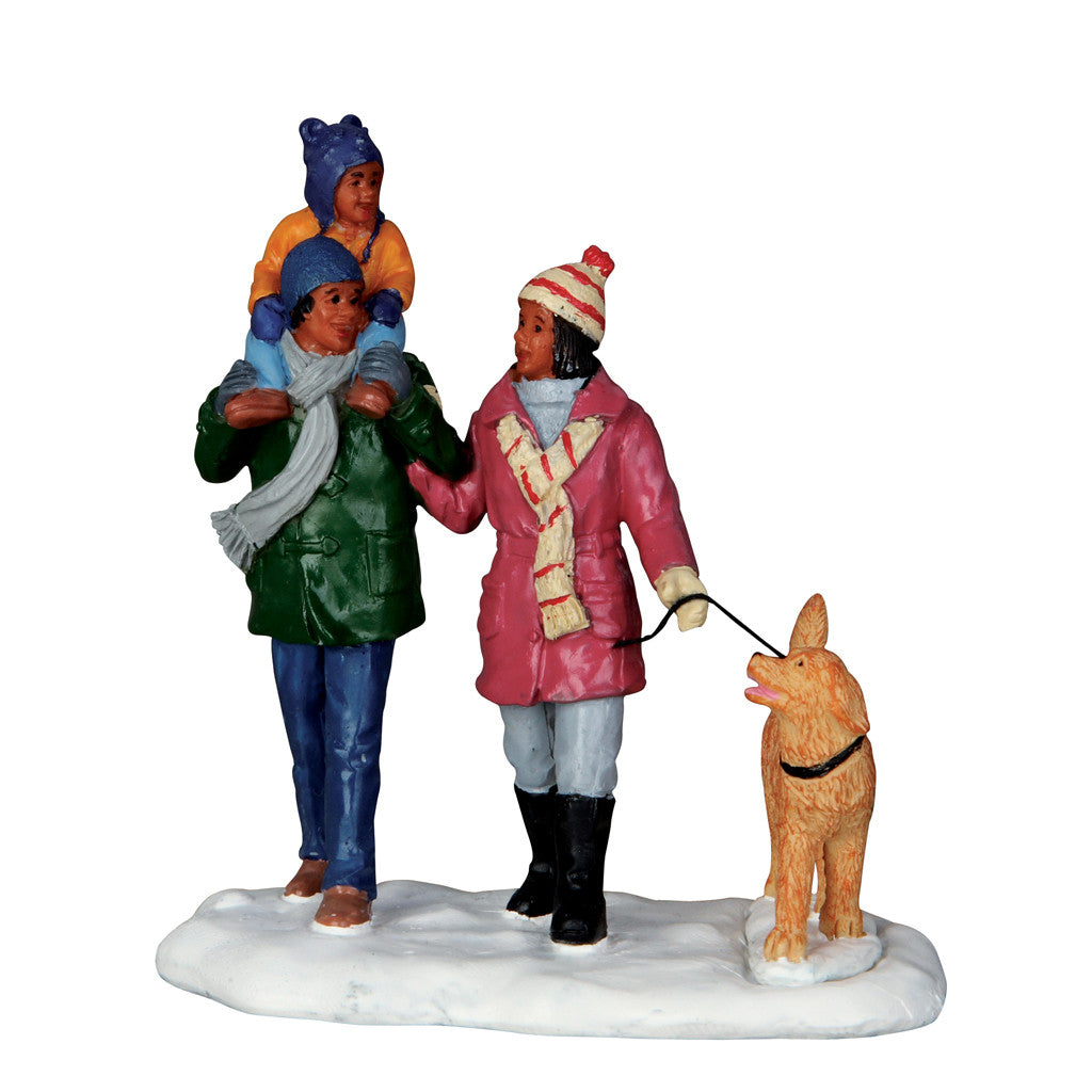 Lemax 62446 Winter Walk, Table Piece- Gift Spice