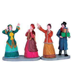 Lemax 62451 Window Shoppers, set of 2, Figurine- Gift Spice