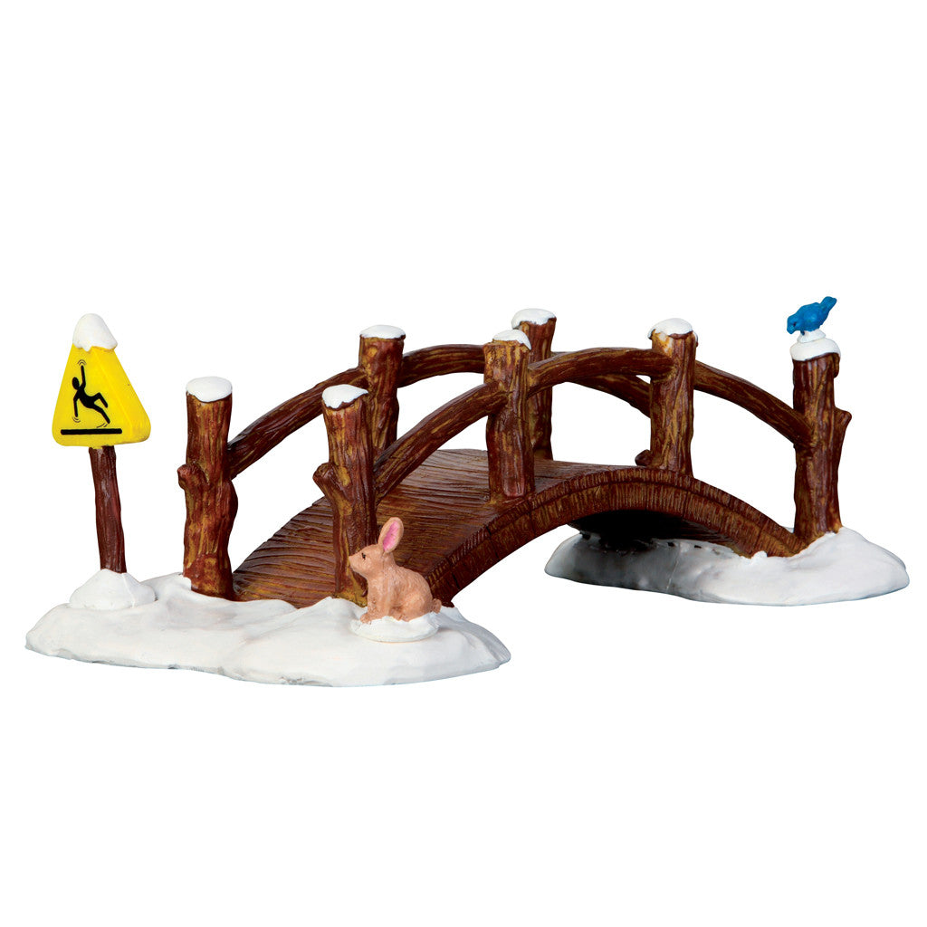 63276 Split Rail Footbridge, Lemax Collectibles- Gift Spice