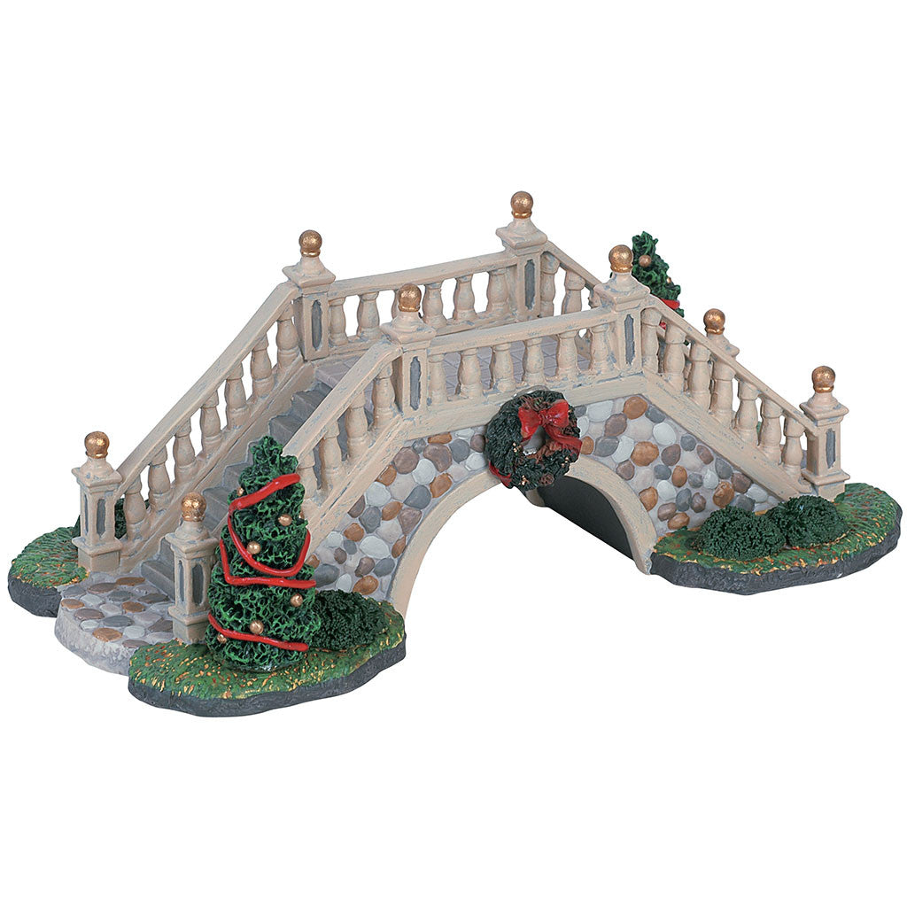 Lemax 63567 Park Footbridge, Table Piece- Gift Spice