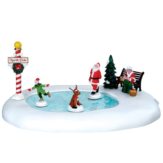 64045 North Pole Ice Follies, Lemax Collectibles- Gift Spice