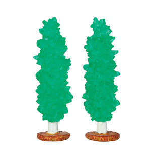 Lemax 64113 Rock Candy Tree, set of 2, Accessory- Gift Spice