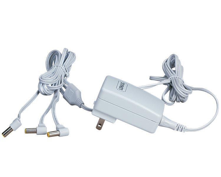 Lemax 74706 Power Adaptor, 4.5V, White 3-OutputUL/CUL, Accessory- Gift Spice