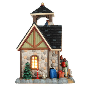 Lemax 65118 Pine Crest Nature Preserve, Standard Lighted Building- Gift Spice