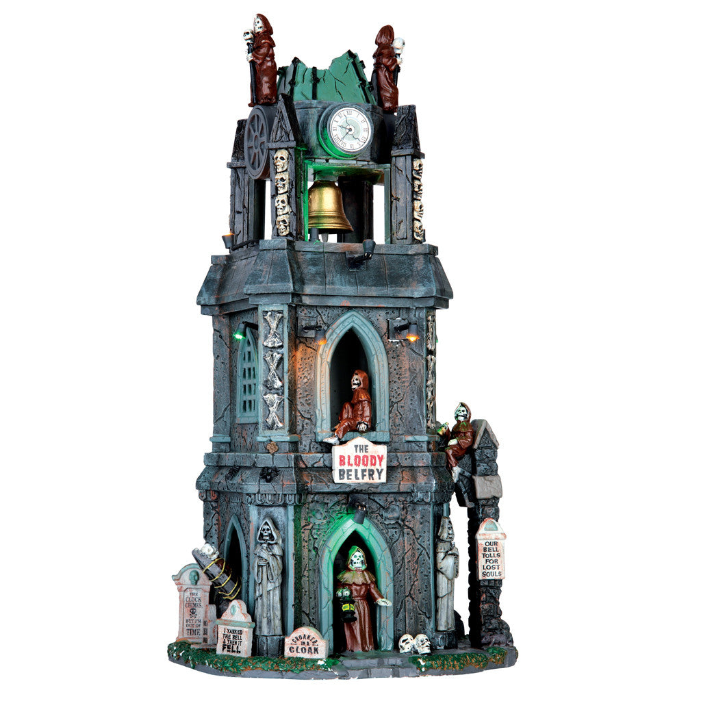 65121 The Bloody Belfrey, Lemax Spookytown- Gift Spice