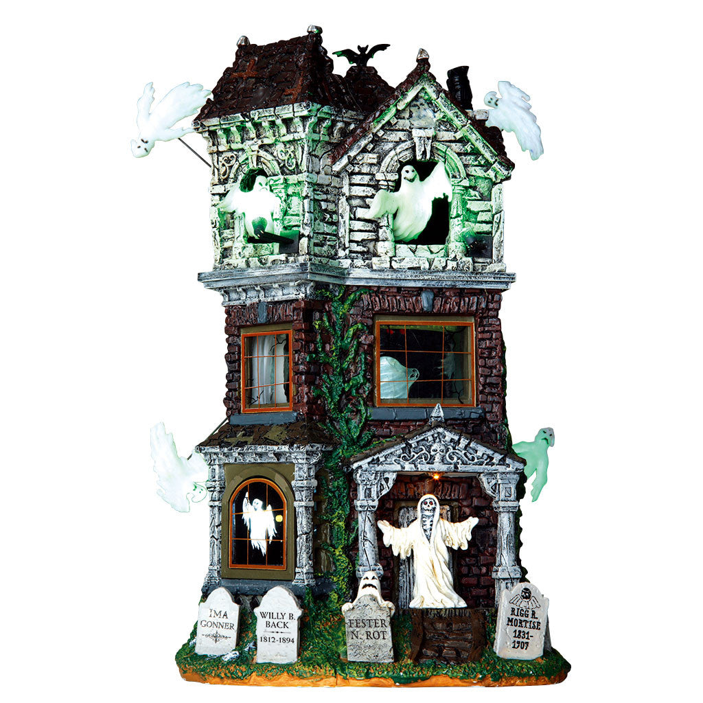 Lemax 65122 Ghostly Manor, Sights and Sound piece- Gift Spice
