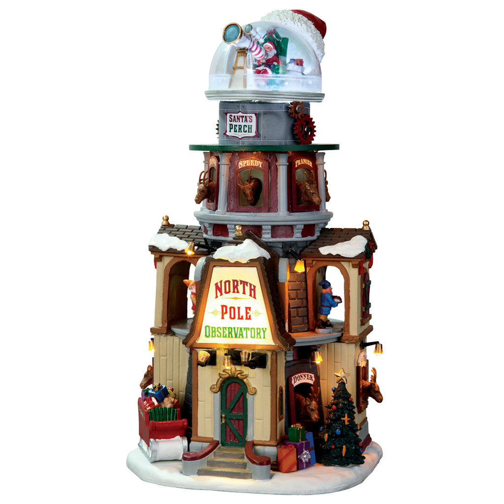 65132 North Pole Observatory, Lemax Collectibles- Gift Spice