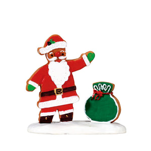 Lemax 72482 Gingerbread Santa, Figurine- Gift Spice