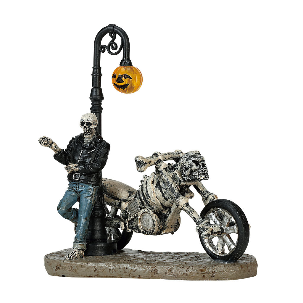 Lemax 72491 Bad To The Bone, Figurine- Gift Spice