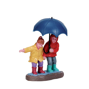 Lemax 72501 Staying Dry, Figurine- Gift Spice