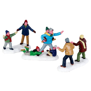 Lemax 72535 Family Football, Figurine- Gift Spice
